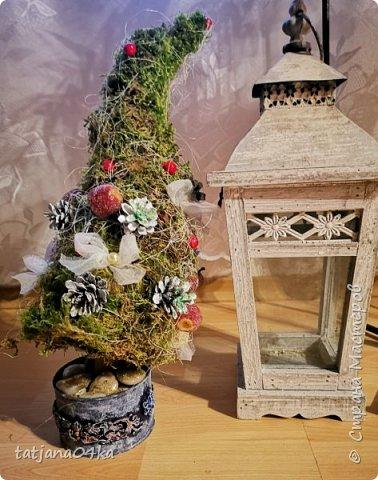 в воскресенье учились делать рождественский рог изобилия,,,вот такая красота теперь украшает мой дом фото 8