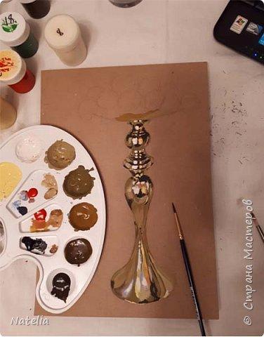 Рисуем золото. Выбираем палитру без яркой желтой краски.