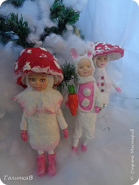 """Добрый всем вечер! Новый год """"на носу"""", а снегом у нас и не пахнет! Но новогоднее настроение присутствует, несмотря на мерзкую бесснежную погоду. Но на фотках моих ватных деток снежок имеется! И елочка! И детки в карнавальных костюмчиках. фото 16"""