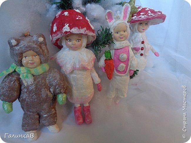 """Добрый всем вечер! Новый год """"на носу"""", а снегом у нас и не пахнет! Но новогоднее настроение присутствует, несмотря на мерзкую бесснежную погоду. Но на фотках моих ватных деток снежок имеется! И елочка! И детки в карнавальных костюмчиках. фото 18"""
