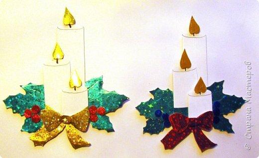 Новый год - самый яркий из всех праздников в году. А вот новогодние вытынанки делают из бумаги одного цвета, обычно белого, иногда добавляя фон другого цвета. Но мне захотелось сделать их яркими, новогодними. За основу взял обычные вытынанки из интернета. Новогодние вытынанки. фото 62