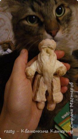 И не спрашивайте, почему в руке заяц. Поза игрушки сама подсказала) фото 4