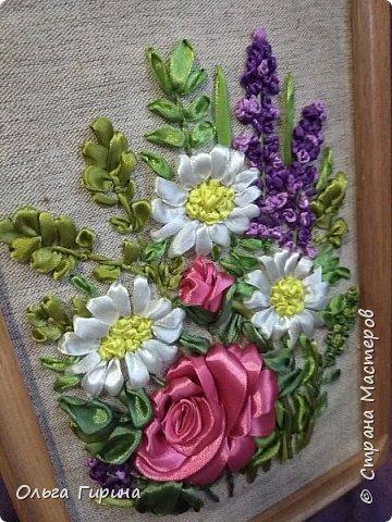 Здравствуйте,мои дорогие!Сегодня я с разностями:-)Была у меня мечта научиться вышивать лентами . фото 7