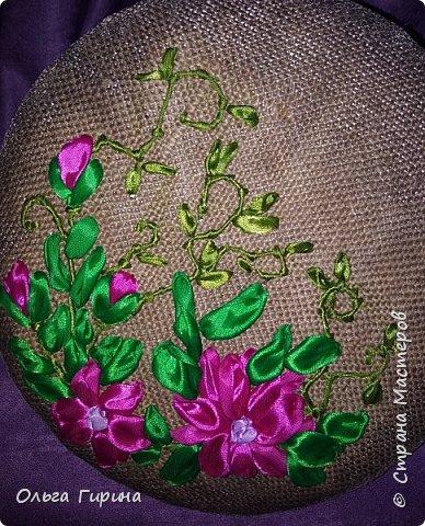 Здравствуйте,мои дорогие!Сегодня я с разностями:-)Была у меня мечта научиться вышивать лентами . фото 9