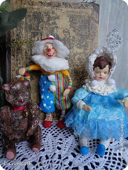 """Доброго всем дня! Дорогие мои, сегодня показываю вам еще партию ватных игрушек. Этакая мини-серия под названием """"Старые игрушки"""" или """"Игрушки из бабушкиного сундука"""".   фото 3"""