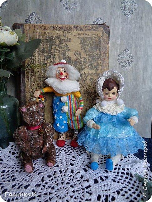 """Доброго всем дня! Дорогие мои, сегодня показываю вам еще партию ватных игрушек. Этакая мини-серия под названием """"Старые игрушки"""" или """"Игрушки из бабушкиного сундука"""".   фото 2"""