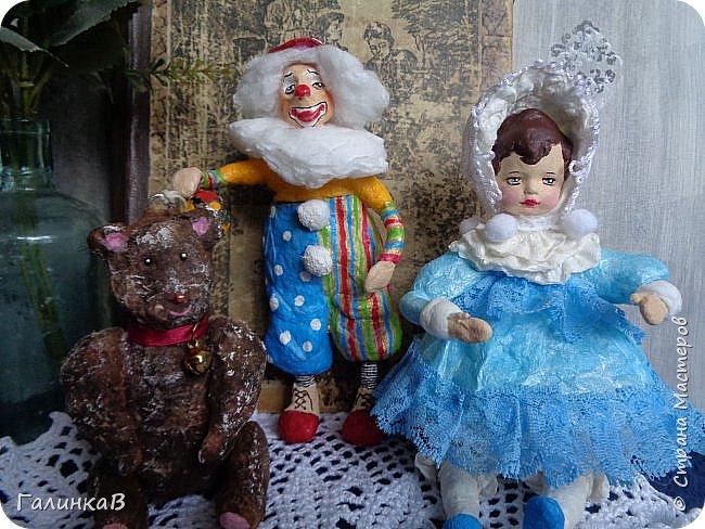 """Доброго всем дня! Дорогие мои, сегодня показываю вам еще партию ватных игрушек. Этакая мини-серия под названием """"Старые игрушки"""" или """"Игрушки из бабушкиного сундука"""".   фото 1"""