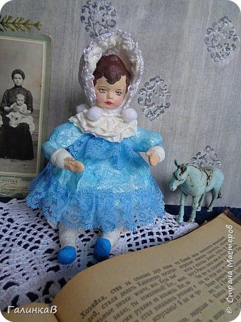 """Доброго всем дня! Дорогие мои, сегодня показываю вам еще партию ватных игрушек. Этакая мини-серия под названием """"Старые игрушки"""" или """"Игрушки из бабушкиного сундука"""".   фото 4"""