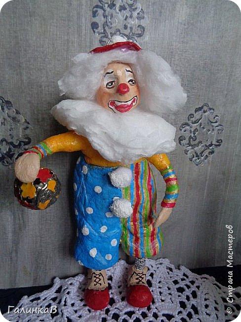 """Доброго всем дня! Дорогие мои, сегодня показываю вам еще партию ватных игрушек. Этакая мини-серия под названием """"Старые игрушки"""" или """"Игрушки из бабушкиного сундука"""".   фото 8"""
