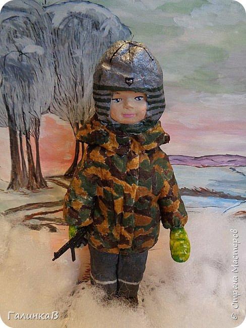 """Доброго всем дня! Дорогие мои, сегодня показываю вам еще партию ватных игрушек. Этакая мини-серия под названием """"Старые игрушки"""" или """"Игрушки из бабушкиного сундука"""".   фото 13"""