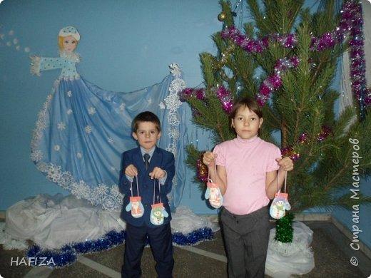 Новогодние варежки фото 2