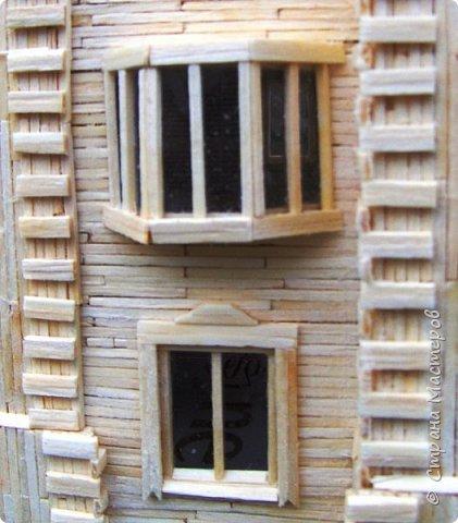 Загородный дом, 18х28х18 см, 145 коробков спичек. фото 32