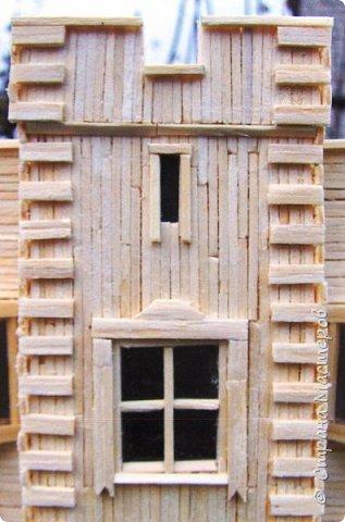 Загородный дом, 18х28х18 см, 145 коробков спичек. фото 35