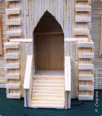 Загородный дом, 18х28х18 см, 145 коробков спичек. фото 36