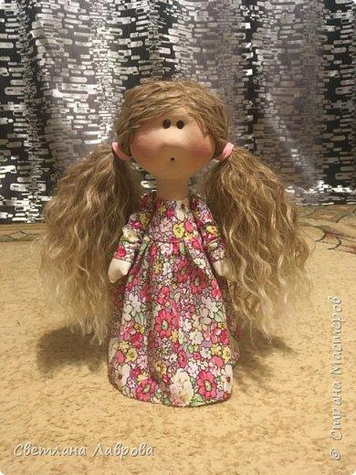 Здравствуйте Мастера и Мастерицы! Представляю Вашему вниманию куколку-Василису. Куколка сшита на заказ. А,теперь,фотосессия... фото 2
