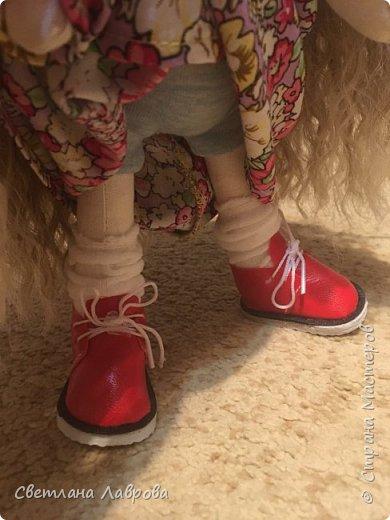 Здравствуйте Мастера и Мастерицы! Представляю Вашему вниманию куколку-Василису. Куколка сшита на заказ. А,теперь,фотосессия... фото 5