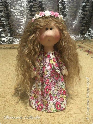 Здравствуйте Мастера и Мастерицы! Представляю Вашему вниманию куколку-Василису. Куколка сшита на заказ. А,теперь,фотосессия... фото 1