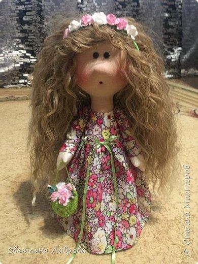 Здравствуйте Мастера и Мастерицы! Представляю Вашему вниманию куколку-Василису. Куколка сшита на заказ. А,теперь,фотосессия... фото 7