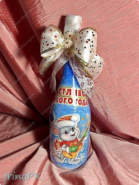 25 января наступил год Крысы (Мыши). Как всегда,по традиции к каждому Новому году делаю декупаж из открыток с символом года, и этот год не исключение.  фото 17