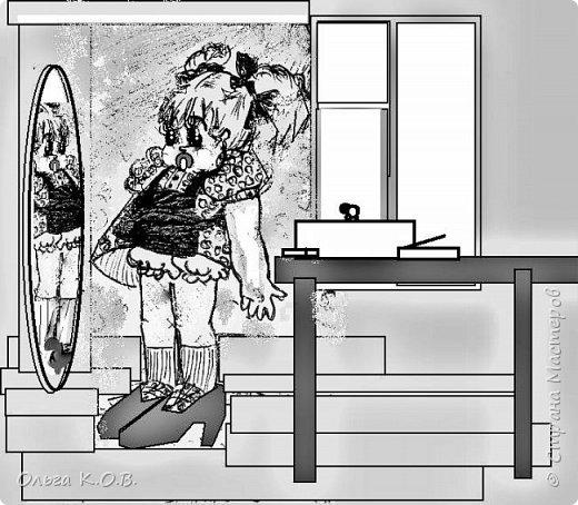 Некоторые Черно-белые иллюстрации к книжке фото 11