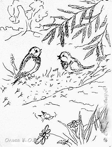 Некоторые Черно-белые иллюстрации к книжке фото 16