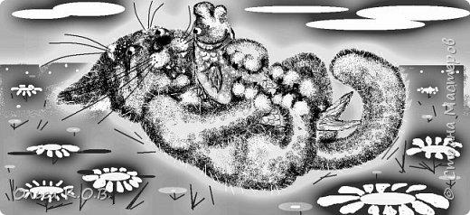 Некоторые Черно-белые иллюстрации к книжке фото 24