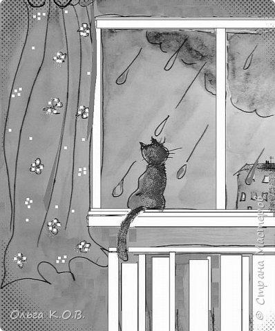 Некоторые Черно-белые иллюстрации к книжке фото 8