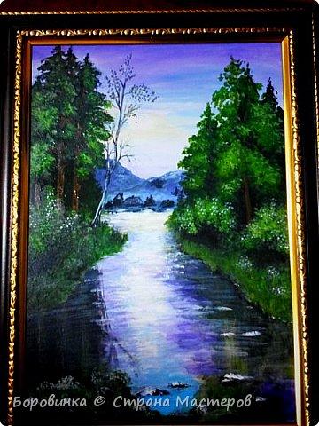 Здравствуйте, дорогие соседи , жители этой замечательной Страны! Я снова к Вам с рисунками. Весна в лесу. фото 2