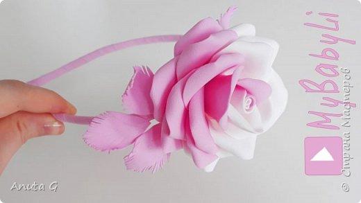 Цветы как живые из фоамирана 🌸🌸🌸 Розы под любую основу