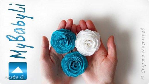 Помпонные розы из фоамирана 🌹 СВОИМИ РУКАМИ 🌹 Цветы