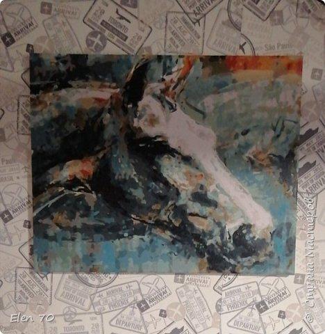 Акриловая краска, холст фото 1