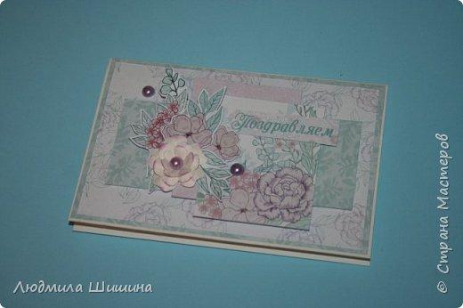 Здравствуйте! Мои открыточки. Некоторые открытки повторяла с курсов Анны Валерьевны Демаковой. Еще вдохновлялась работами Ирины( Голубка). фото 9