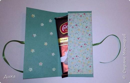 Здравствуйте, уважаемые Мастера!!! Ещё один мамин заказ и ещё одна шоколадница по быстрому :-) Как сказала моя мама, срочно на завтра придумай что-нибудь)))   Поискала, нашла подходящую распечатку с мелкими цветочками и картинку феи фото 3