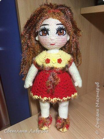 Здравствуйте жители Страны мастеров! Представляю вашему вниманию - Анечку. Девочка сделана в подарок маленькой девочке...