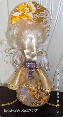 Кукла предназначена в уголок России средней группы в детском саду. фото 4