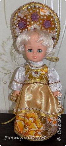 Кукла предназначена в уголок России средней группы в детском саду. фото 3