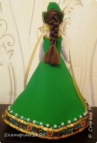 Кукла предназначена в уголок России средней группы в детском саду. фото 2