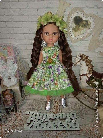 Представляю вам новую куколку по новой выкройке ростиком аж 38см,пока не пойму нравится мне она или нет.... фото 2