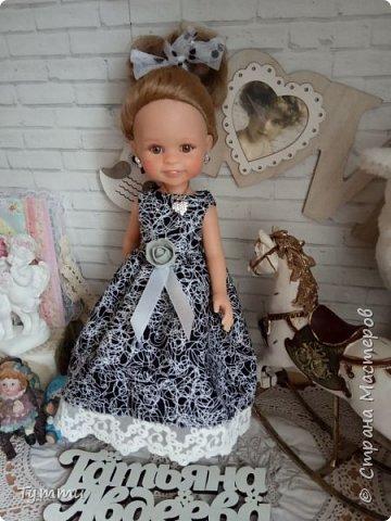 Представляю вам новую куколку по новой выкройке ростиком аж 38см,пока не пойму нравится мне она или нет.... фото 18