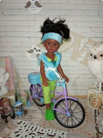Представляю вам новую куколку по новой выкройке ростиком аж 38см,пока не пойму нравится мне она или нет.... фото 15