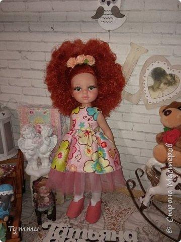 Представляю вам новую куколку по новой выкройке ростиком аж 38см,пока не пойму нравится мне она или нет.... фото 10