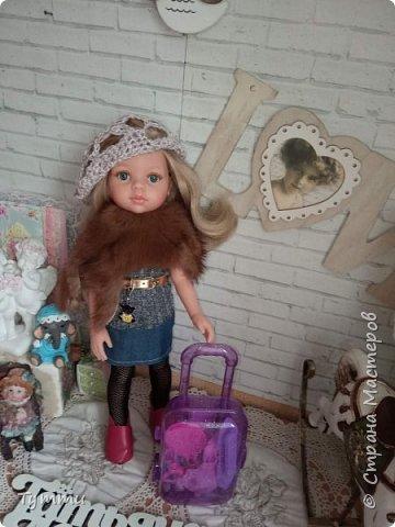 Представляю вам новую куколку по новой выкройке ростиком аж 38см,пока не пойму нравится мне она или нет.... фото 17