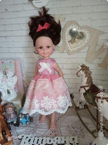 Представляю вам новую куколку по новой выкройке ростиком аж 38см,пока не пойму нравится мне она или нет.... фото 4