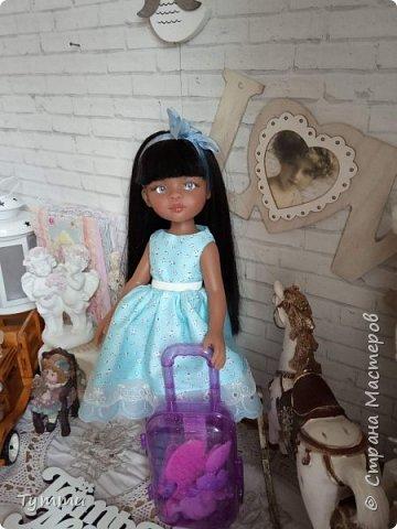 Представляю вам новую куколку по новой выкройке ростиком аж 38см,пока не пойму нравится мне она или нет.... фото 12