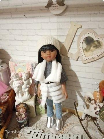 Представляю вам новую куколку по новой выкройке ростиком аж 38см,пока не пойму нравится мне она или нет.... фото 8