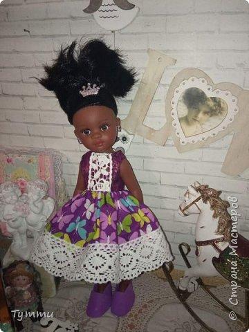 Представляю вам новую куколку по новой выкройке ростиком аж 38см,пока не пойму нравится мне она или нет.... фото 13