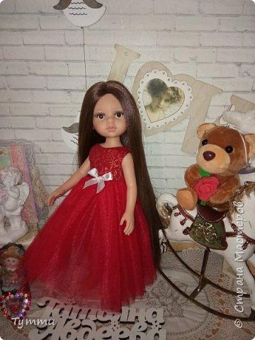 Представляю вам новую куколку по новой выкройке ростиком аж 38см,пока не пойму нравится мне она или нет.... фото 6