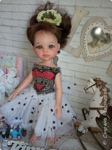 Представляю вам новую куколку по новой выкройке ростиком аж 38см,пока не пойму нравится мне она или нет.... фото 16