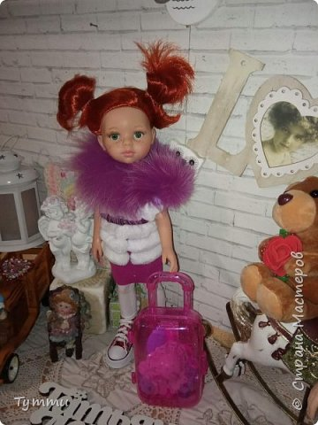 Представляю вам новую куколку по новой выкройке ростиком аж 38см,пока не пойму нравится мне она или нет.... фото 9