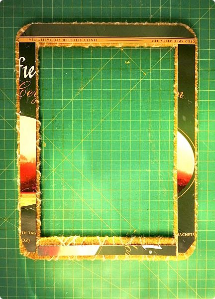 Предлагаю сделать рамку для фотографии 15х20 см  из самых простых и доступных материалов.  Вставила фото моего дяди, маминого старшего брата. фото 22